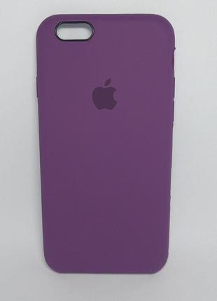 Задня накладка iPhone 6 Original Soft Touch Case Plum