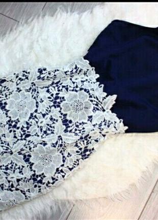 Платье сарафан по фигуре кружево