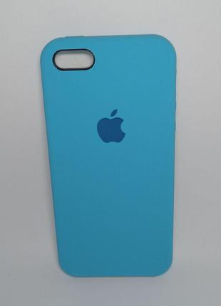 Задня накладка iPhone 5 Original Soft Touch Case blue