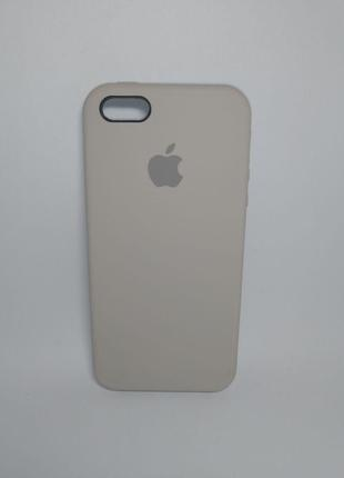 Задня накладка iPhone 5 Original Soft Touch Case Stone