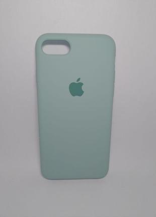 Задня накладка iPhone 7 Original Soft Touch Case Turquiose