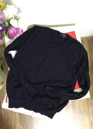 Пуловер джемпер liberty m 100%шерсть мериноса