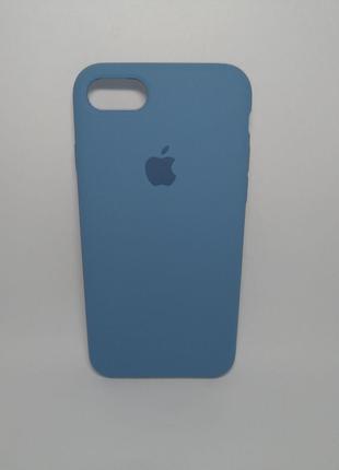 Задня накладка iPhone 7 Original Soft Touch Case blue