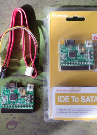 Адаптер Viewcon VE077 IDE TO SATA convertor