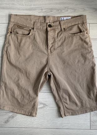Бежеві чоловічі шорти, мужские шорты, шорти на літо.