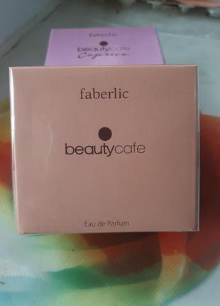 Парфюмерная вода beauty cafe/ faberlic