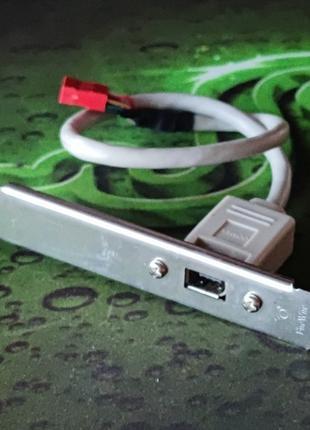Планка расширения IEEE 1394 (Firewire) на заднюю панель