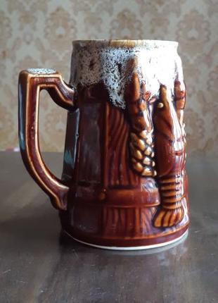 Бокал для пива, кухоль. Пивной бокал.
