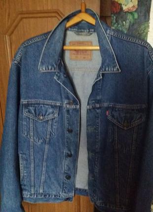 Джинсова куртка Levis