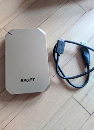 Внешний жесткий диск EAGET G60 500GB USB 3.0