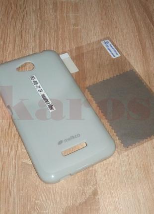 Защитный Силиконовый Чехол для Телефона Htc Desire 616 Фирмы MELK