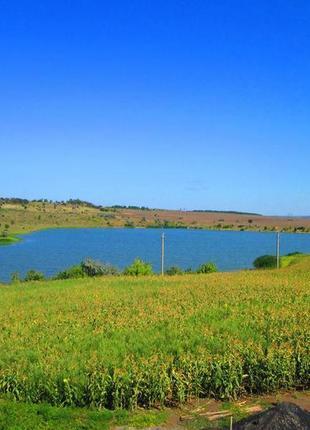 земельный участок(коммерция) 1,75га на берегу пруда