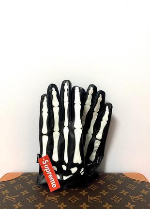 Тёплые перчатки Supreme