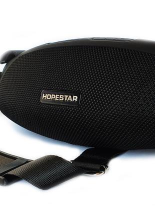 Портативная беспроводная стерео колонка Hopestar H43 Черная