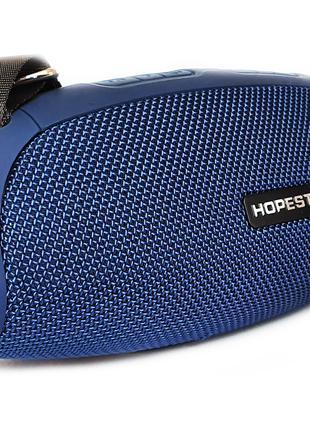 Портативная беспроводная стерео колонка Hopestar H43 Синяя