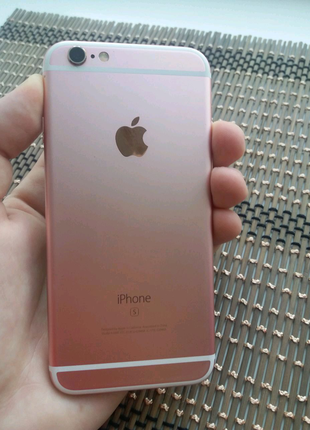 Iphone 6S 16GB Neverlock Rose Gold, Батарея 88% Стан 9/10 Неверло
