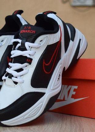 Модные кроссовки 💪 nike  air monarch black white  💪