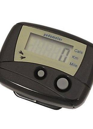 Шагомер mini цифровой +счетчик калорий