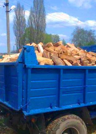 Дрова колотые, метровка 5 700 грн ЗИЛ с доставкой Кременчуг