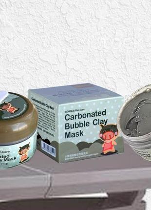 Кислородная маска bioaqua carbonated bubble clay mask - Bioaqua