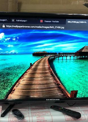 Новый телевизор Samsung 32 Smart + ПОДАРОК, смарт телевизор