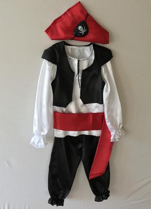 Костюм пирата разбойника детский карнавальный новогодний