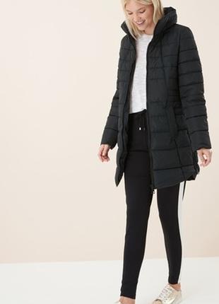 Зимняя куртка некст next женская дутая длинная