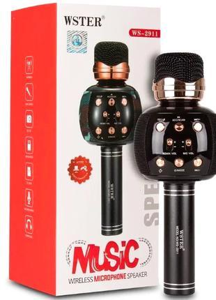 Беспроводной микрофон караоке WSTER WS-2911 Bluetooth
