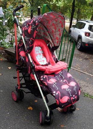 Продам детскую прогулочную коляску-трость Cosatto Supa Flamingo