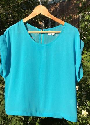 #розвантажуюсь блузочка красивого голубого цвета
