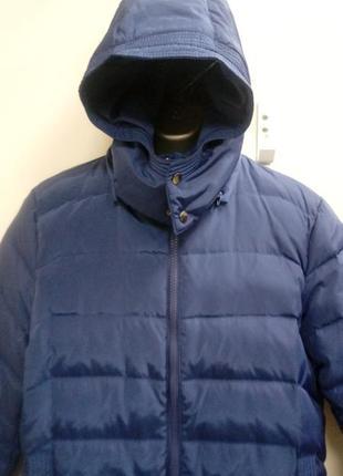 Брендовый, легкий,  очень теплый, итальянский, пуховик, куртка.