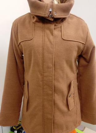 Женская, зимняя, суконная, утепленная, куртка, пальто, stitch&...