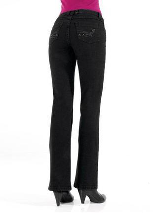 Женские, джинсы, прямые, стрейчевые, с пуш ап эффектом, m