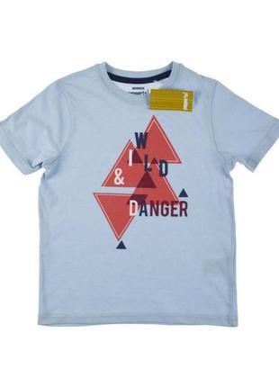 Детская, футболка, на мальчика, хлопковая, 134