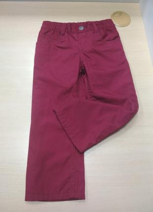Джинсы, детские, термо, штаны, lupilu, для девочки, размер 92
