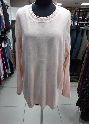 Женский, теплый, свитер, кофта, большого размера, xxl