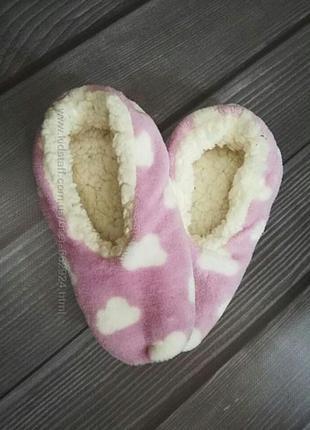 Носки, тапки, тапочки, плюшевые, домашние, детские, женские, р...