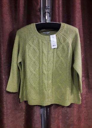 Новый невероятно красивый свитер  большого размера от george