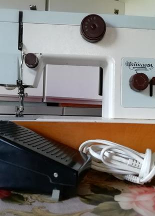 Швейная машинка Чайка 134, с электроприводом