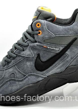 Мужские кроссовки на меху Nike Air Span 2, Серый, купить