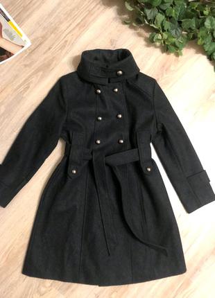 Натуральная шерсть стильное брэндовое детское пальто