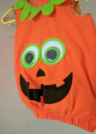 Костюм тыквы 3-4 года Хэллоуин карнавал