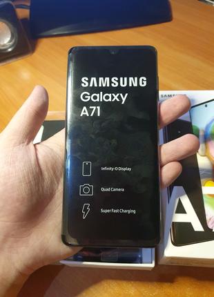Samsung Galaxy A71 НОВЫЙ + ЧЕХОЛ