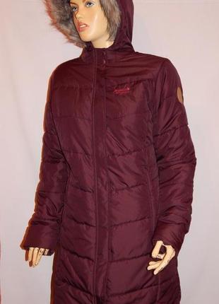 Бомбезное,  теплое женское пальто от regatta. размер l