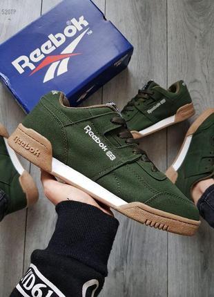 Мужские кроссовки reebok green