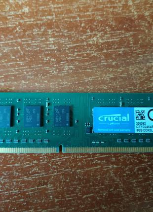 оперативня память для п.к. Crucial ДДР3L 1600 8Gb