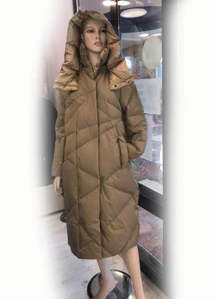 Женский зимний пуховик пальто max mara р. 46-48-50-52