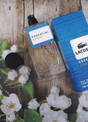Мужская туалетная вода Lacoste Essential Sport - 100 мл