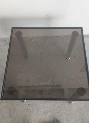Журнальный столик ( стеклянный)