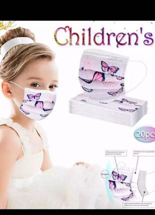 Детские маски новогодние